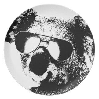 The Shady Koala.gif Dinner Plate