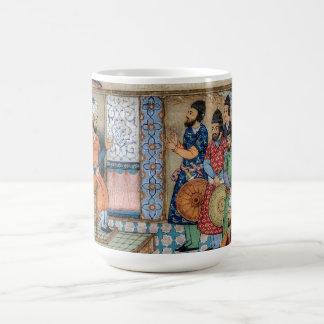 The Shahnama Classic White Coffee Mug