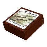 The Shakotan herring GYOTAKU JAPAN writer work < H Keepsake Box