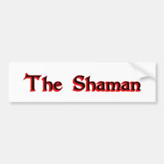 The Shaman Bumper Sticker