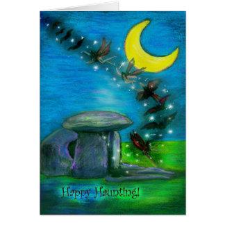 The Shaman's Death Halloween Card