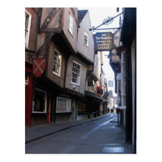 The Shambles Coffee Postcard