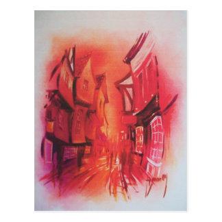 The Shambles in York Postcard