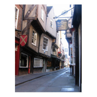 The Shambles (Unplugged) Coffee Postcard