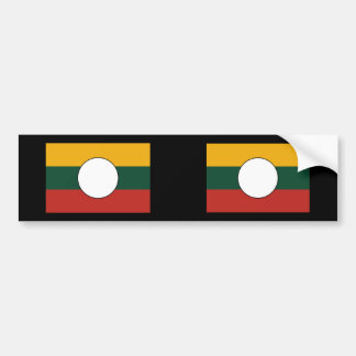 the Shan State Myanmar Bumper Stickers