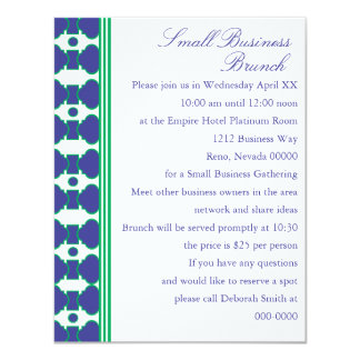 The Shannon Pattern 4.25x5.5 Paper Invitation Card