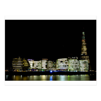 The shard and City Of London Buildings Postcard
