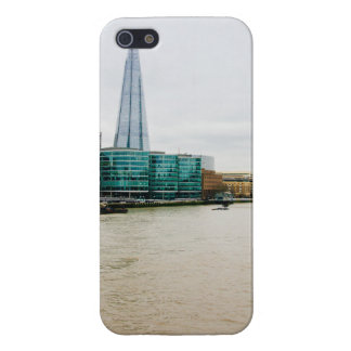 The Shard and river Thames, London UK iPhone SE/5/5s Case