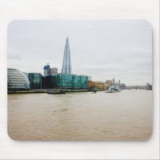 The Shard and river Thames, London UK Mouse Pad