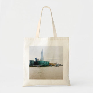 The Shard and river Thames, London UK Tote Bag