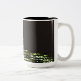 The Shard and Southbank London Two-Tone Coffee Mug