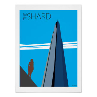 The Shard and Statue (N) Print