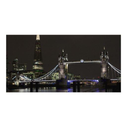 The Shard and Tower Bridge Photo Greeting Card
