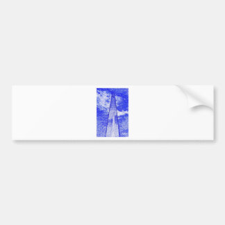 The Shard Car Bumper Sticker
