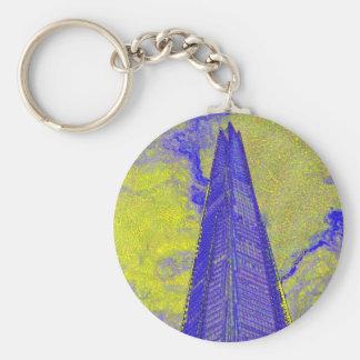 The Shard London Art Keychain