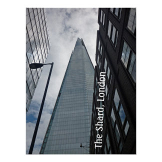 The Shard, London Poster