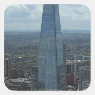 The Shard, London Square Sticker