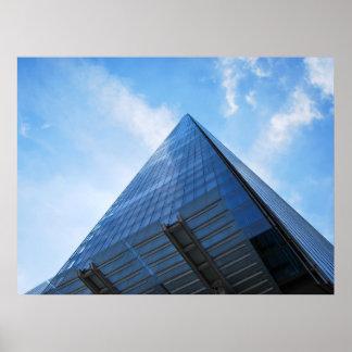 The Shard Skyscraper London Poster