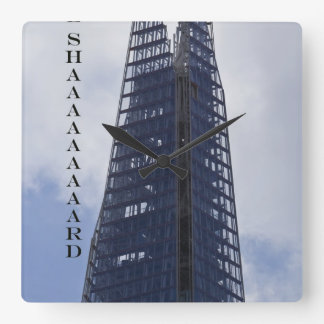 The Shard Square Wall Clock