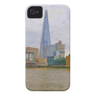 The Shard, Thames River, London, England iPhone 4 Cover