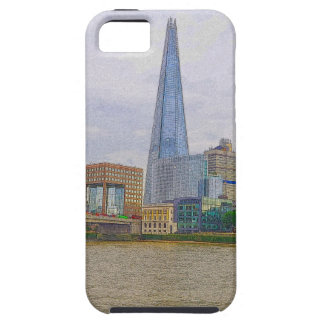 The Shard, Thames River, London, England iPhone SE/5/5s Case