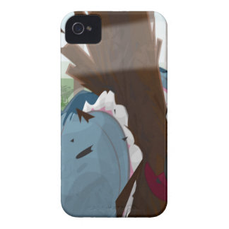 The Shark in the Park (Original Artwork) iPhone 4 Case-Mate Cases