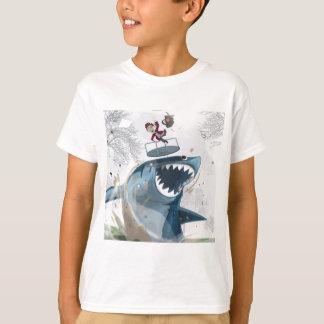 The Shark in the Park (Original Artwork) T-Shirt