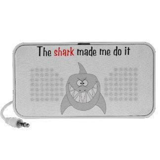 The Shark Made Me Do It Speaker