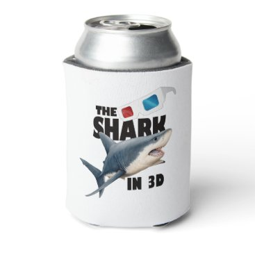 Beach Themed The Shark Movie Can Cooler