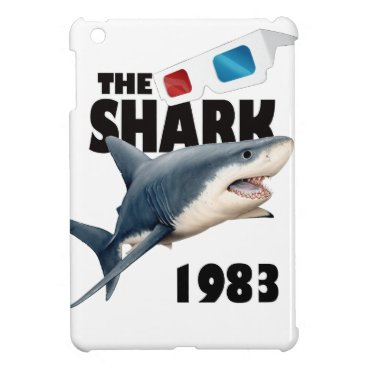 Beach Themed The Shark Movie Case For The iPad Mini