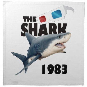 Beach Themed The Shark Movie Cloth Napkin
