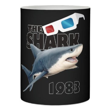 Beach Themed The Shark Movie Flameless Candle