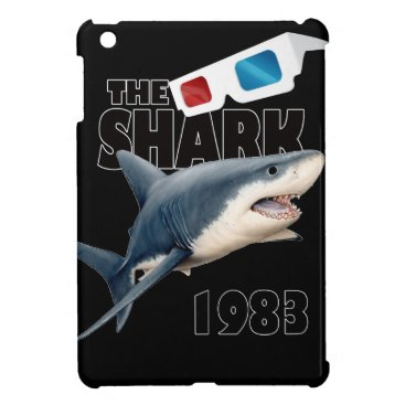 Beach Themed The Shark Movie iPad Mini Cases