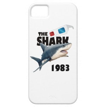 Beach Themed The Shark Movie iPhone SE/5/5s Case