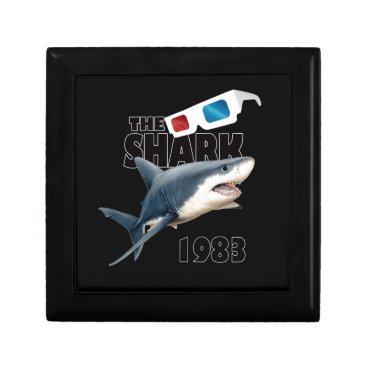 Beach Themed The Shark Movie Jewelry Box