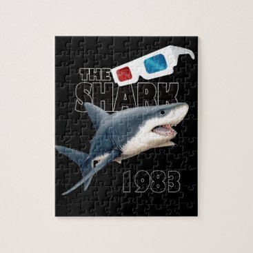 Beach Themed The Shark Movie Jigsaw Puzzle
