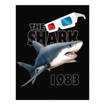 Beach Themed The Shark Movie Letterhead