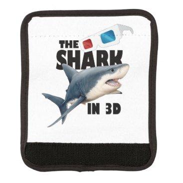 Beach Themed The Shark Movie Luggage Handle Wrap