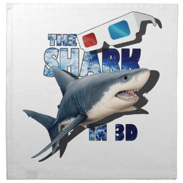 Beach Themed The Shark Movie Napkin