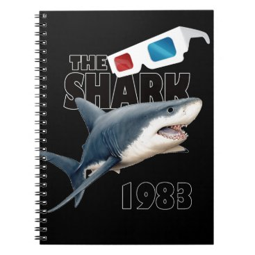Beach Themed The Shark Movie Notebook