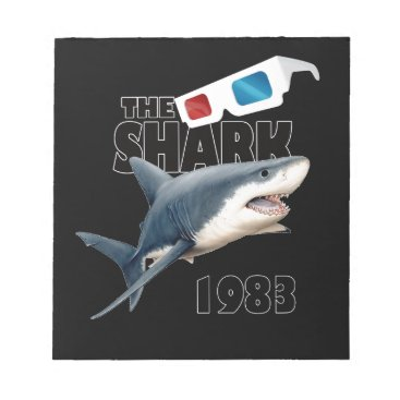 Beach Themed The Shark Movie Notepad