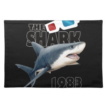 Beach Themed The Shark Movie Placemat