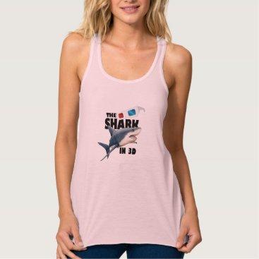 Beach Themed The Shark Movie Tank Top