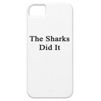 The Sharks Did It iPhone 5 Cover