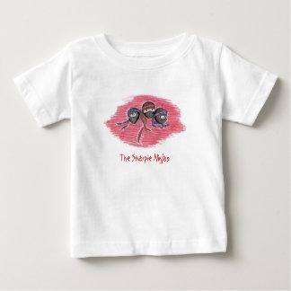 The Sharpie Ninjas logo infant tee