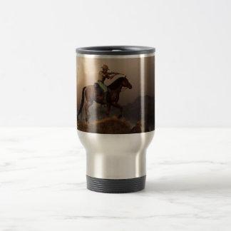 The Sharpshooter 15 Oz Stainless Steel Travel Mug