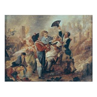 The Shaving Mug of Lille, 1793 Postcard