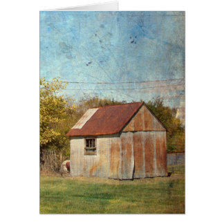The Shed Card