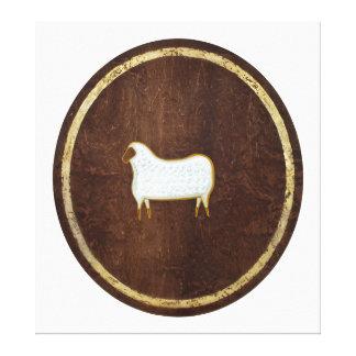 The Sheep 2009 Canvas Print