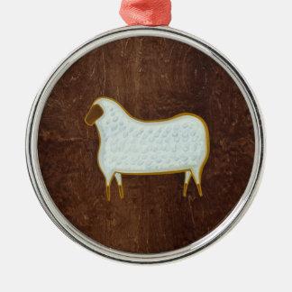 The Sheep 2009 Metal Ornament